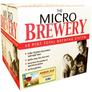 Home Brew Micro Brewery Amber Ale Complete System