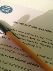 kent home brew shop mail order